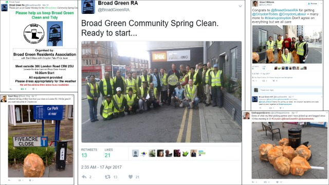 Broad Green Spring Clean Tweets 1