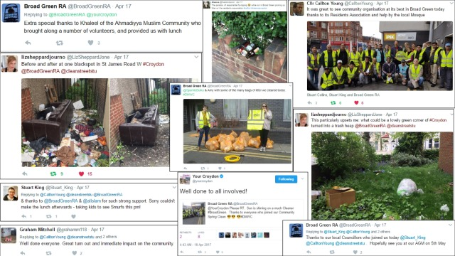 Broad Green Spring Clean Tweets 2